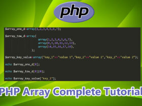 PHP Array Complete Tutorial