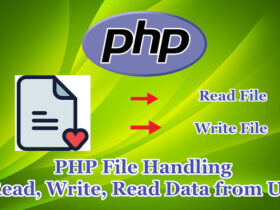 PHP File Handling (Read ,Write, Read Data from URL)