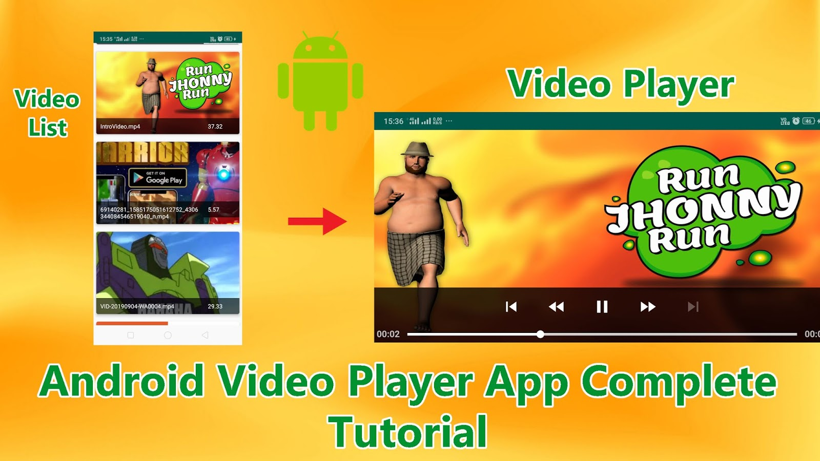 Android Video Player App Tutorial