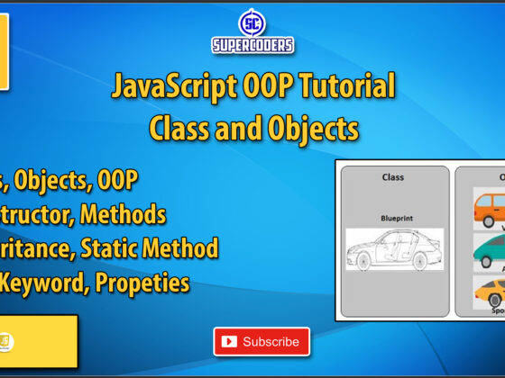 JavaScript OOP Class and Objects Tutorial | Basics | Constructor | Static Method | Inheritance