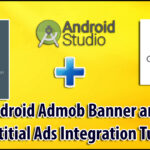 Android Admob Integration Mobile Advertising | Admob Banner and Interstitial Ads Android Tutorial