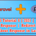 Laravel 8 (2021) PHP MVC Web framework Part 6   All About Response   Redirect With Message