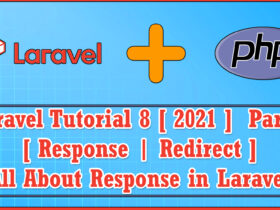 Laravel 8 (2021) PHP MVC Web framework Part 6 | All About Response | Redirect With Message